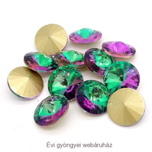 Rivoli 14mm - green purple